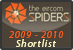 Spiders Shortlist